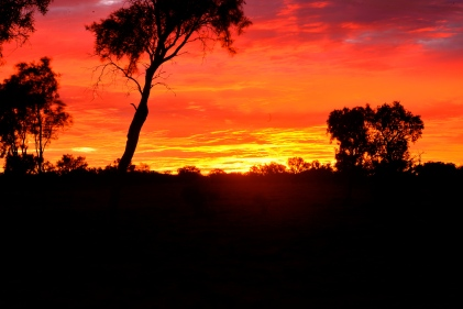 Arthur River Sunset, Outback Australia