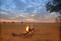 Around the Camp Fire - Outback Australia