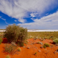 Contrast and Colour - In the Australian Outback