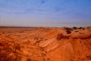 Colourful desert