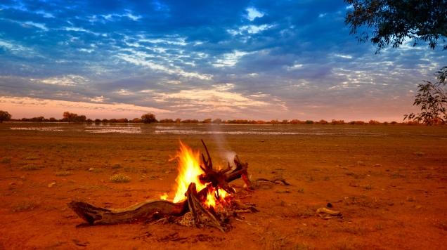 Lake Cohen, Outback Australia