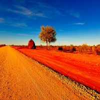 Colours of the Australian Outback...