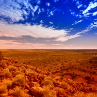 Remoteness and isolation - deep in the Australian Outback...