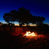 Isolation, in the Australian Outback...